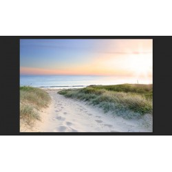Fototapeta  Poranny spacer po plaży
