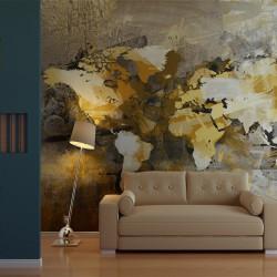 Fototapeta Artystyczna mapa świata