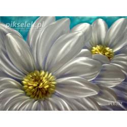 Metaliczne kwiaty