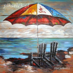 Samotny parasol