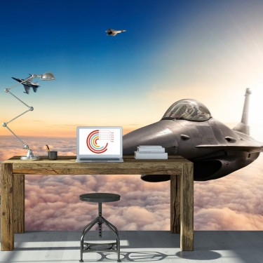 Fototapeta  Myśliwce F16