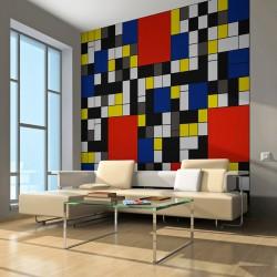 Fototapeta - Piet Mondrian - inspiracja