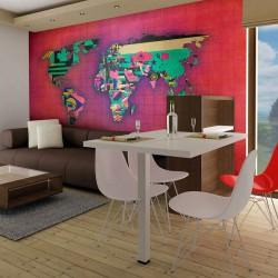 Fototapeta Avantgarde World map