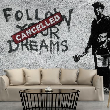 Fototapeta  Dreams Cancelled (Banksy)