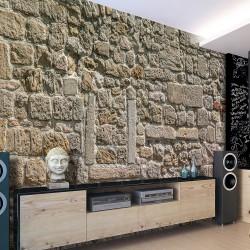Fototapeta - Ściana z kamieni