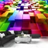 Fototapeta Kolorowe sześciany