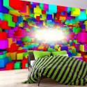 Fototapeta Światło w geometrii koloru