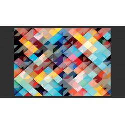 Fototapeta  Kolorowy patchwork