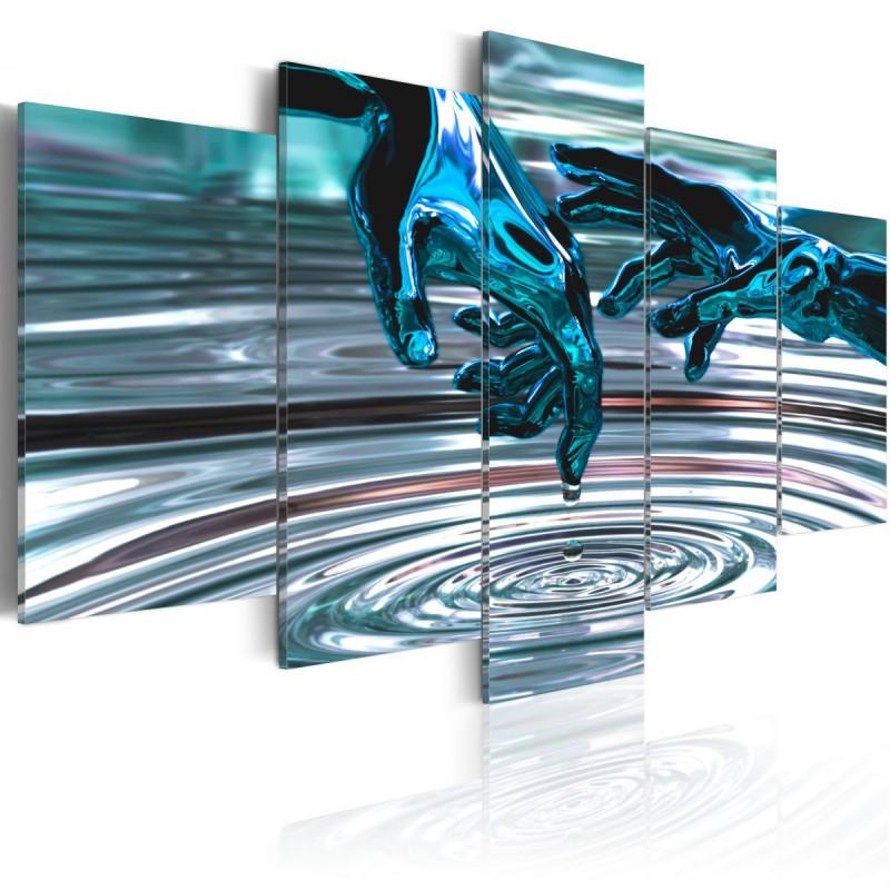 Obraz  Wodne kręgi