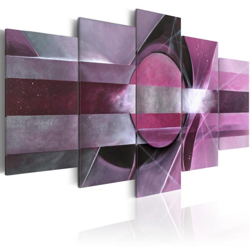 Obraz  Fioletowa abstrakcja
