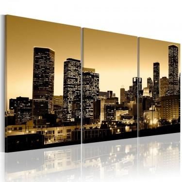 Obraz - Blask w oknach miasta