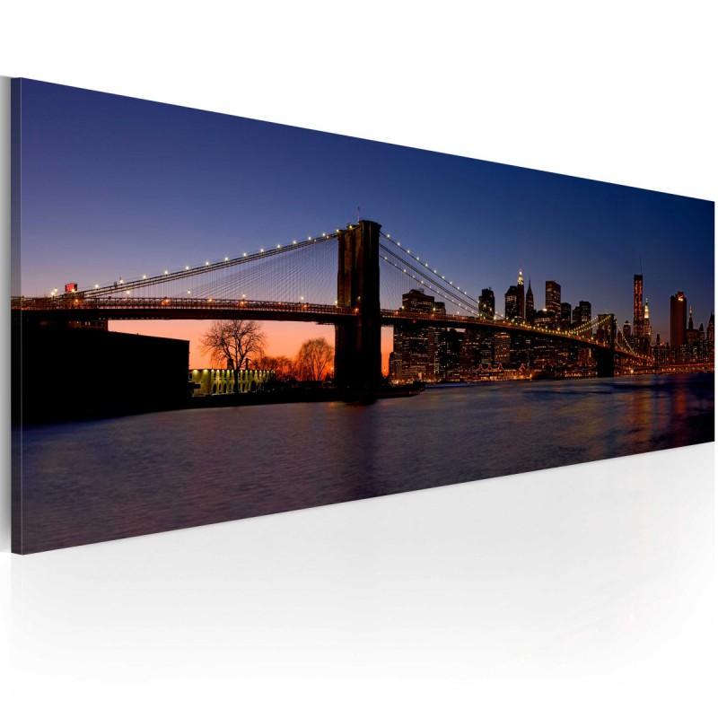 Obraz  Most Brookliński  panorama