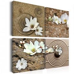 Obraz Białe kwiaty