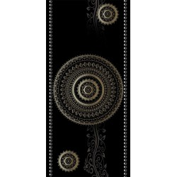 Fototapeta na drzwi  Tapeta na drzwi  Deseń  kółka