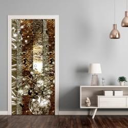 Fototapeta na drzwi Tapeta na drzwi Złote tło