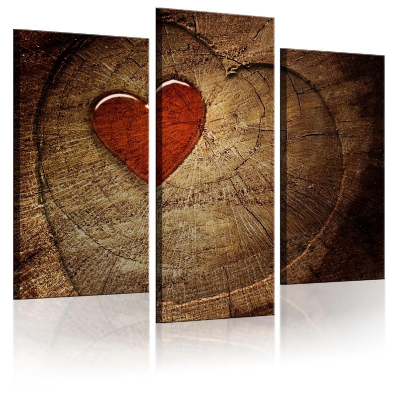 Obraz Stara miłość nie rdzewieje tryptyk