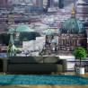 Fototapeta Berlin widok z lotu ptaka