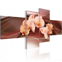 Obraz Orchidea na przygaszonym tle