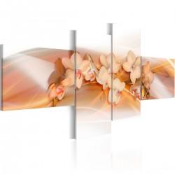 Obraz Kremowe kwiaty Orchidee
