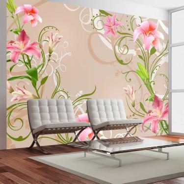 Fototapeta - Subtelne piekno lilii