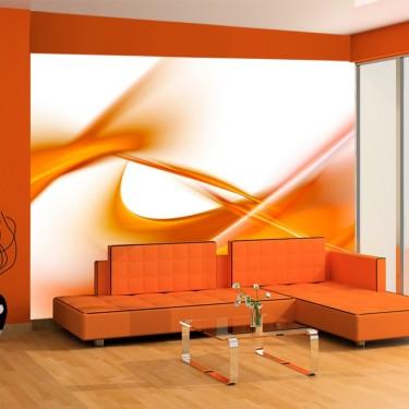 Fototapeta - abstrakcja - pomarańczowy