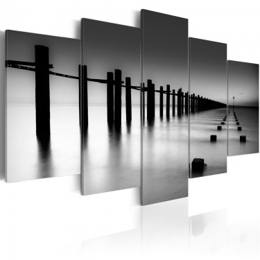 Obraz  Melancholijny widok na morze