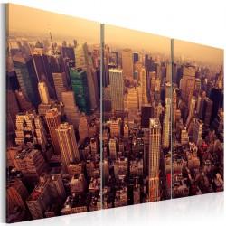 Obraz  Zachód słońca nad Nowym Jorkiem