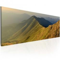 Obraz Góry o zachodzie słońca