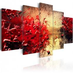 Obraz Krwista abstrakcja