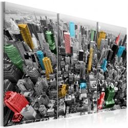 Obraz Nowy Jork w kolorach CMYK