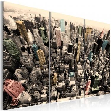 Obraz  Najwyższe budynki Nowego Jorku