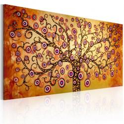 Obraz malowany Pawie drzewo