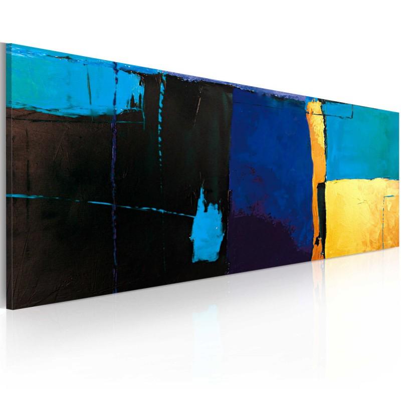Obraz malowany Fascynacja błękitem