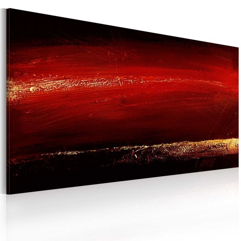 Obraz malowany Czerwona szminka