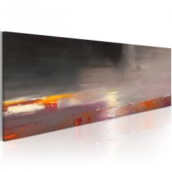 Obraz malowany - Morze we mgle