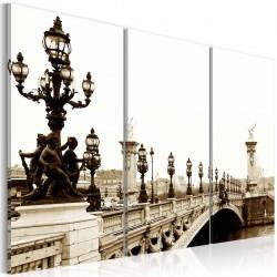 Obraz  Romantyczny spacer po Paryżu