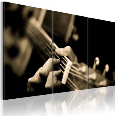Obraz  Magiczny dźwięk gitary
