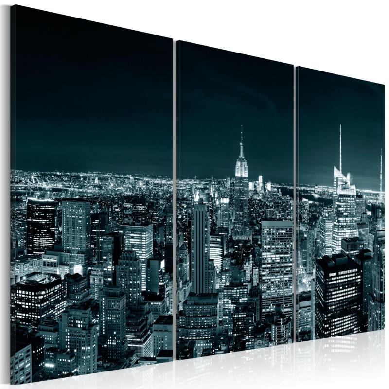 Obraz NYC nocą