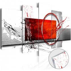 Obraz na szkle akrylowym Zimowa ekspresja [Glass]
