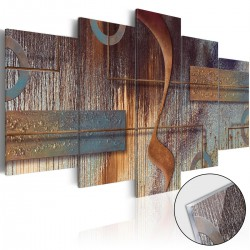 Obraz na szkle akrylowym Orientalna kompozycja [Glass]