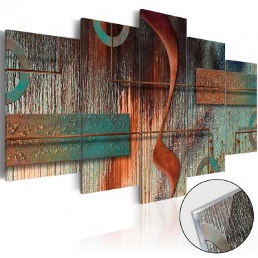 Obraz na szkle akrylowym  Abstrakcyjna melodia [Glass]