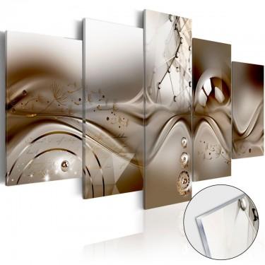 Obraz na szkle akrylowym  Artystyczna dysharmonia [Glass]