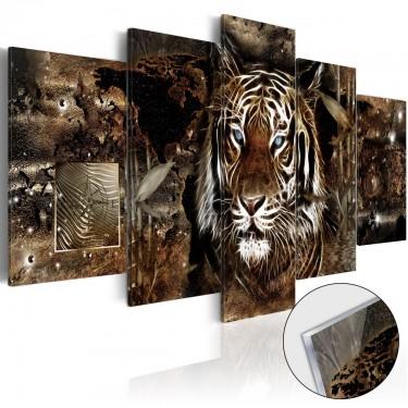Obraz na szkle akrylowym  Strażnik dżungli [Glass]
