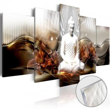 Obraz na szkle akrylowym  Kryształowy spokój [Glass]