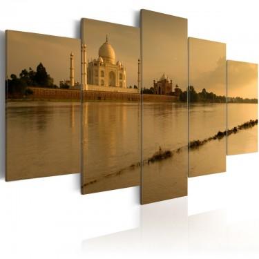 Obraz  Legendarny Tadż Mahal