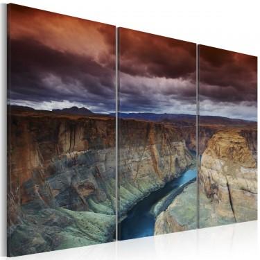 Obraz  Chmury nad Wielkim Kanionem Kolorado