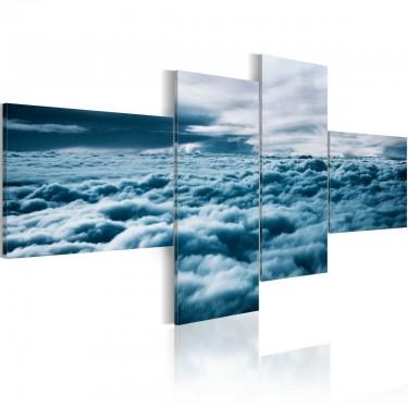 Obraz  Z głową w chmurach