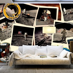 Fototapeta XXL Księżycowe podróże