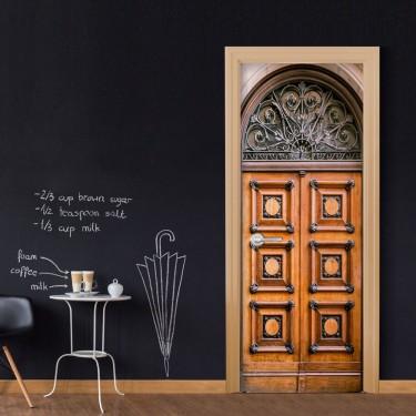 Fototapeta na drzwi  Zabytkowe drzwi