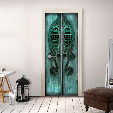 Fototapeta na drzwi  Szmaragdowe wrota